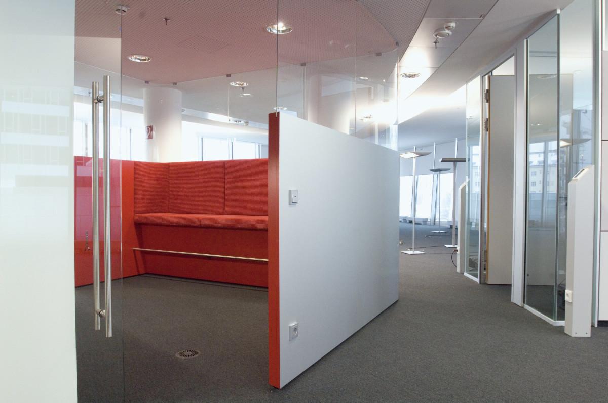Objekteinrichtung Referenz | Sitzkoje OMV Konzernzentrale Wien