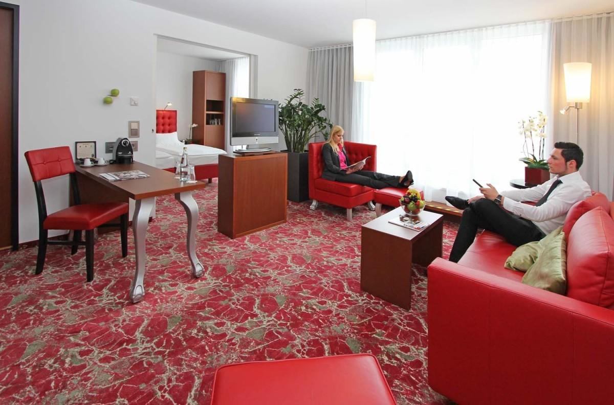 Hoteleinrichtung Referenz | Ausstattung Hotelzimmer Arcotel Kaiserwasser 4* Superior Hotel