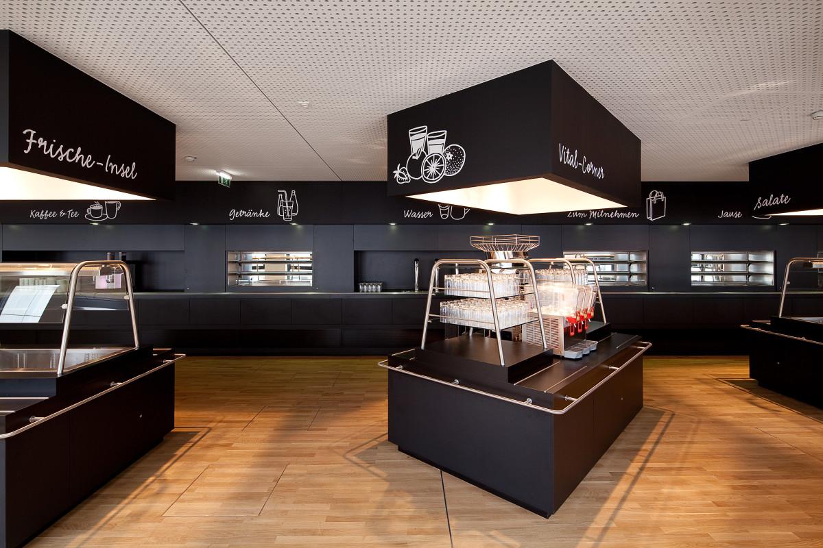 Gastro Einrichtung Referenz | Selbstbedienungszone Wiener Stadtwerke CB04 - TownTown