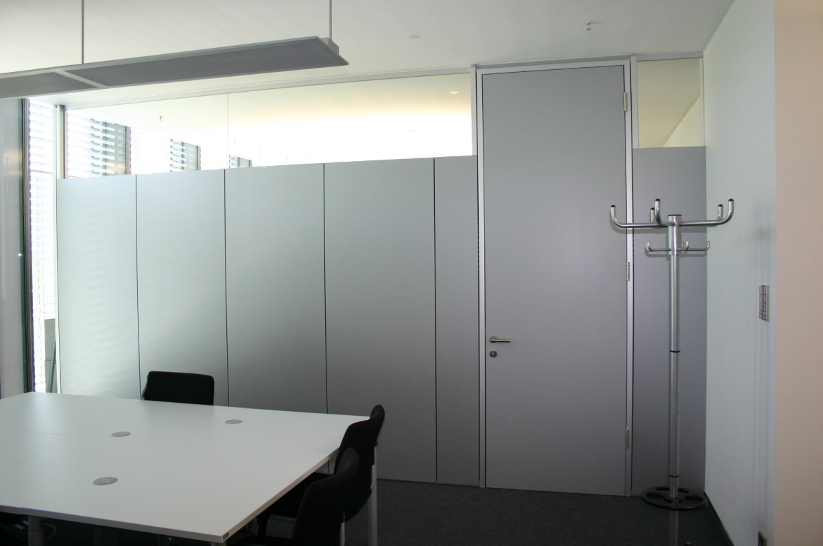 Trennwandsysteme Referenz | Trennwandsysteme Strabag AG München - Highlight Business Towers