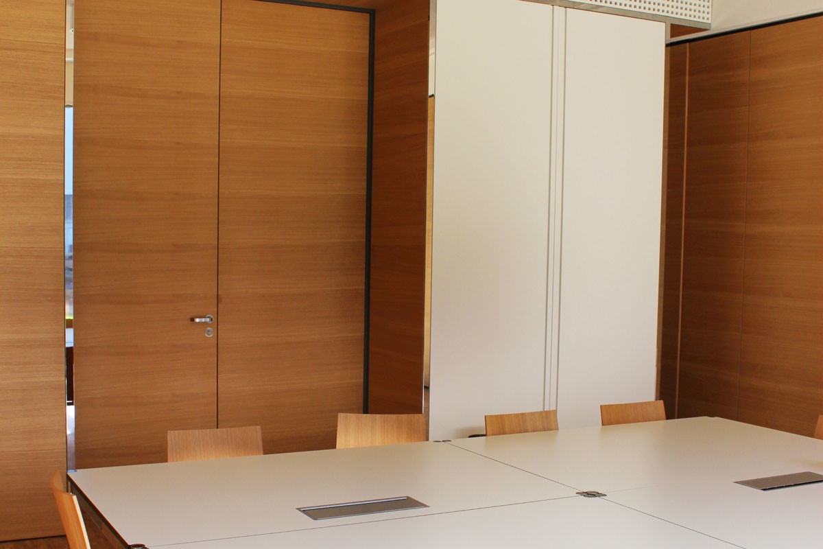 Objekteinrichtung Referenz | raumhohe Türelemente Jungbunzlauer Austria AG