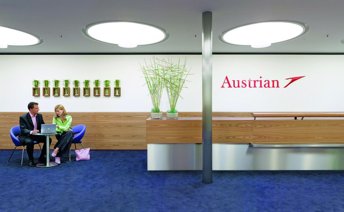 Objekteinrichtung Referenz | Counter VIE- Flughafen Wien Terminal 1A