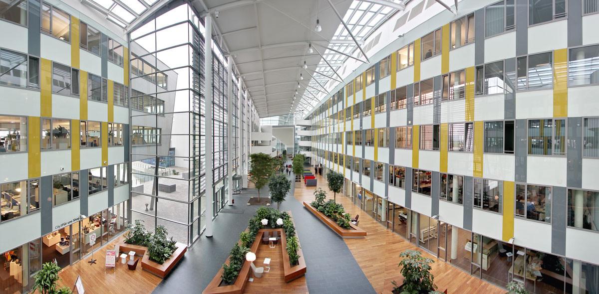 Objekteinrichtung Referenz | Innenansicht Siemens City