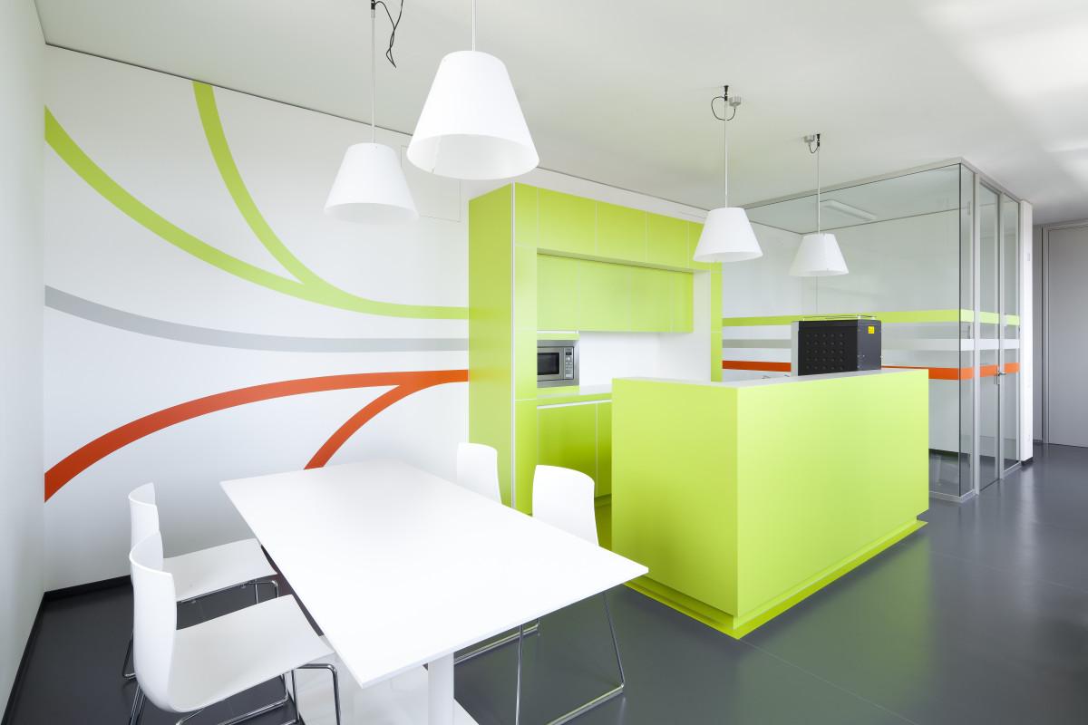 Referenzprojekt modernes Arbeiten   Objektküche Wiener Stadtwerke TownTown CBO3
