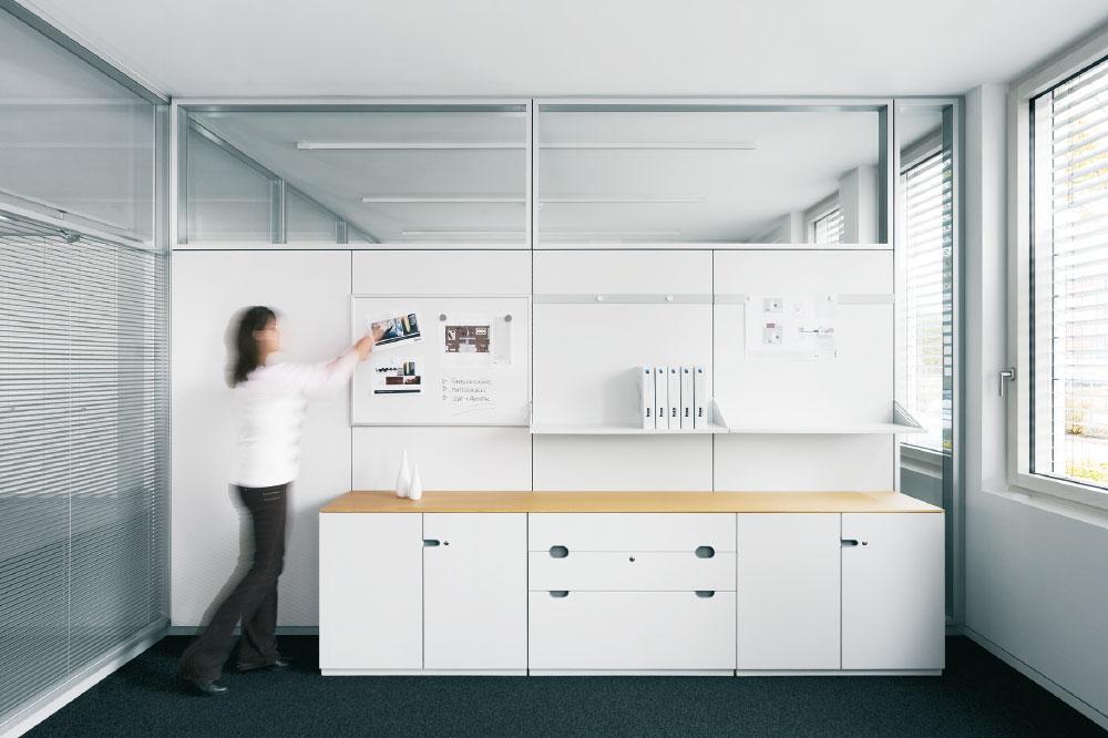 fecoorga - Die organisierte Bürowand.