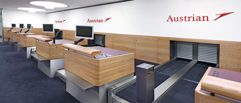 Slider Hochgerner - Projekt Terminal 2, Flughafen Wien AG