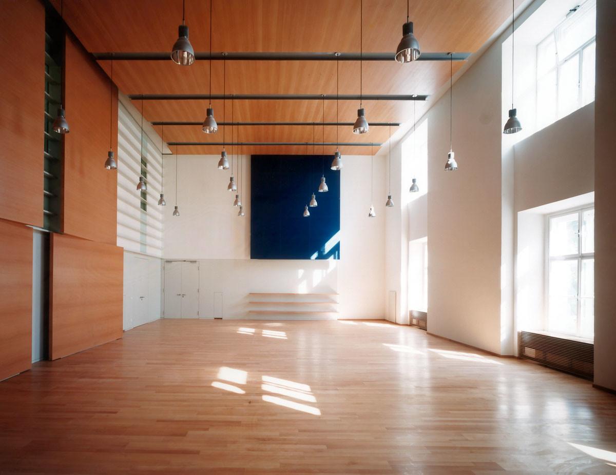 Objekteinrichtung Referenz | Wandverkleidung, Deckenverkleidung Universität für Musik und darstellende Kunst