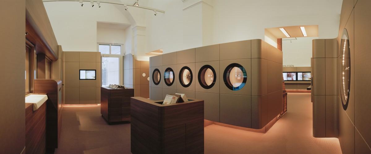 Objekteinrichtung Referenz | Wandverkleidung, Verkaufspult Münze Österreich AG
