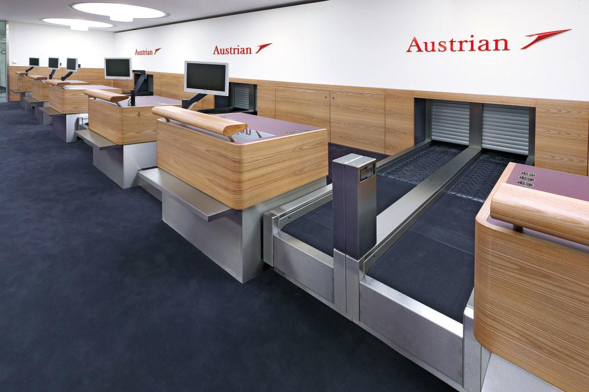 Terminal 2, Flughafen Wien AG, Premium Check-In