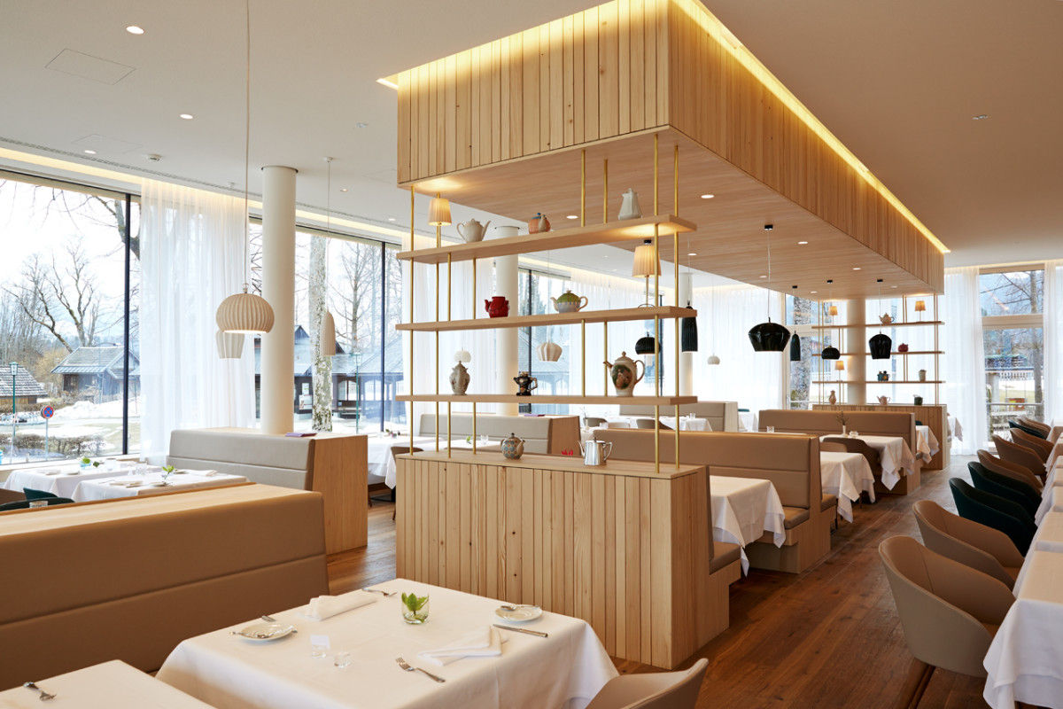 Hoteleinrichtung Referenz | VivaMayr Resort Altaussee Speisesaal