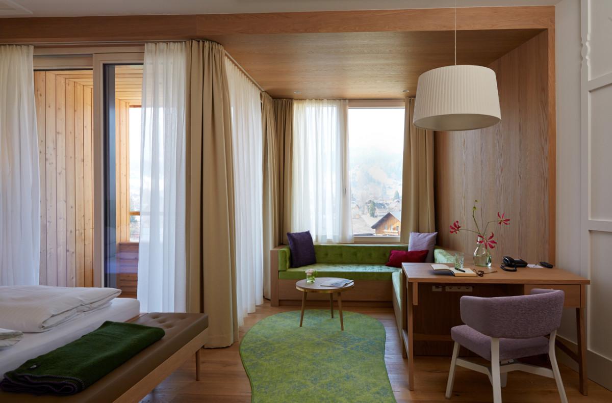 Hoteleinrichtung Referenz | Zimmer Penthouse Altaussee